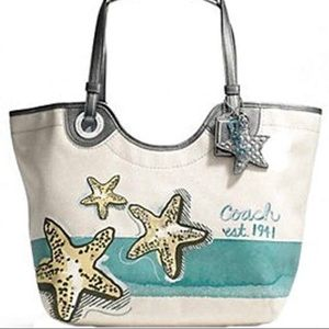 Authentic Coach Starfish handbag